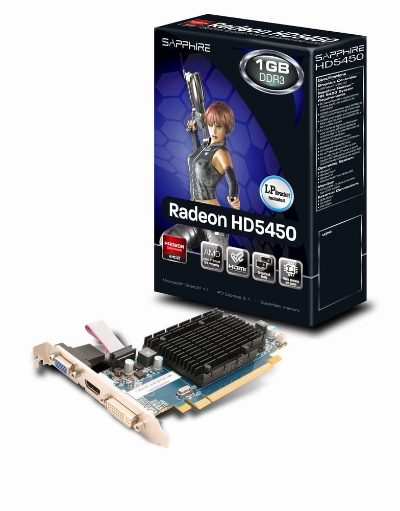 Sapphire Radeon Hd 5450 Driver Windows 7 Download