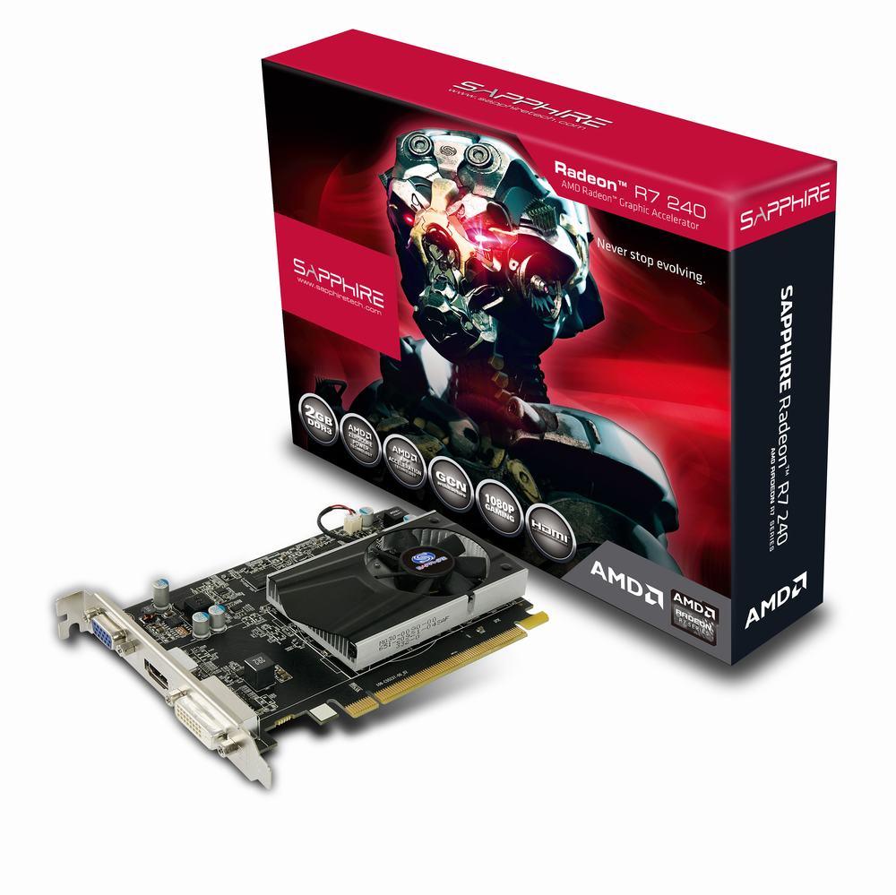 Kết quả hình ảnh cho VGA Sapphire R7 240